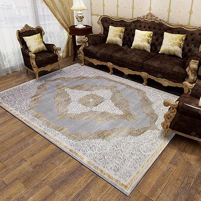 地毯品牌欧式复古纹理机织地毯