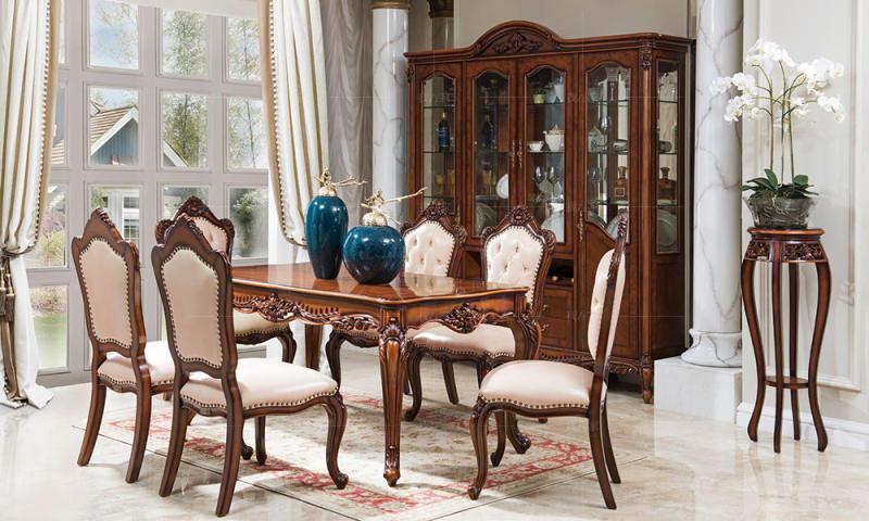 古典欧式风格弗莱格勒餐桌的家具详细介绍