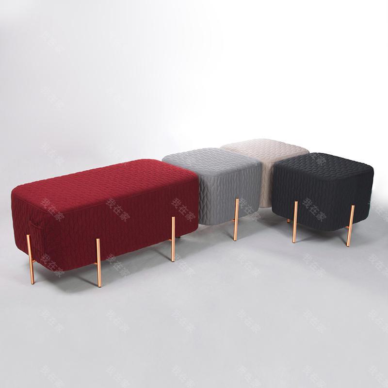 色彩北欧风格大象凳子第二代
