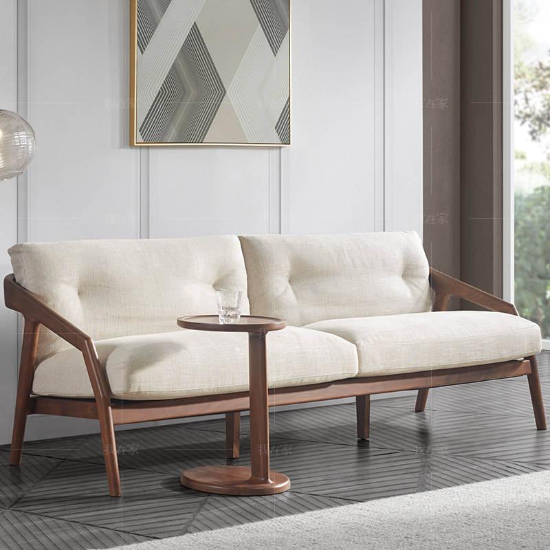 原木北欧风格意绪沙发