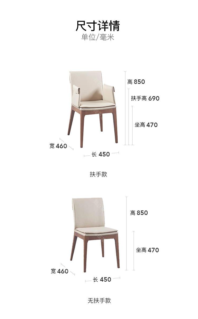 原木北欧风格扬沐餐椅的家具详细介绍