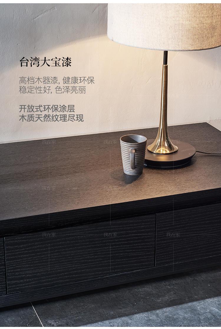 意式极简风格弗利电视柜的家具详细介绍