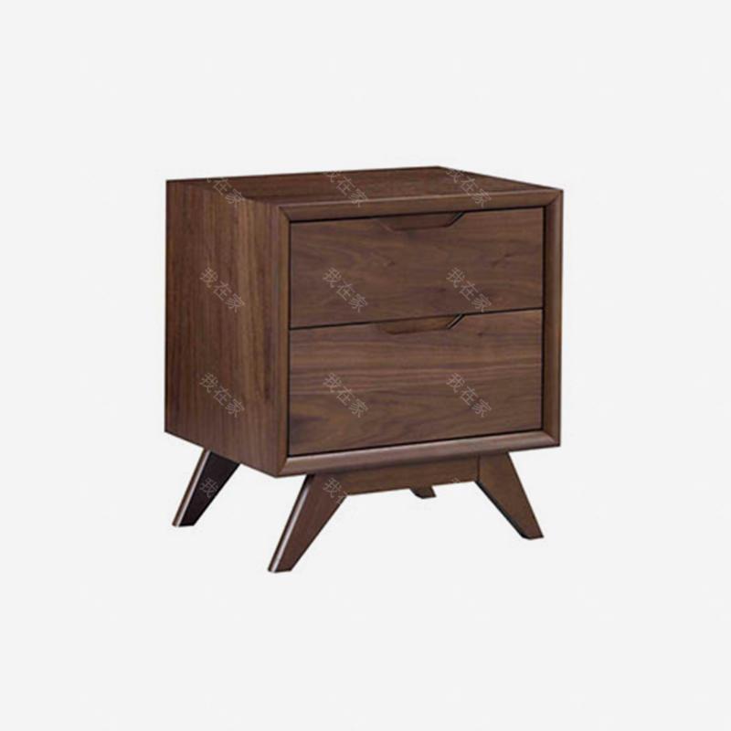原木北欧风格高地床头柜(样品特惠)