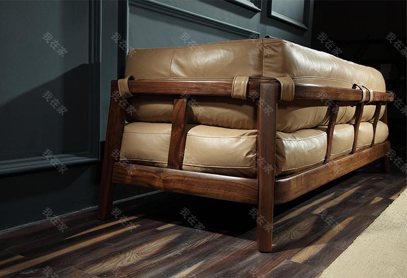 原木北欧风格倚尚沙发的家具详细介绍
