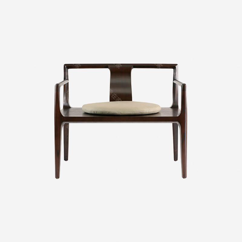 新中式风格清风主人茶椅