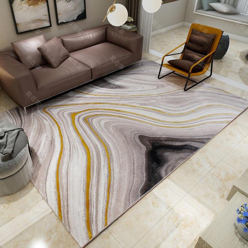 地毯品牌水墨波纹机织地毯