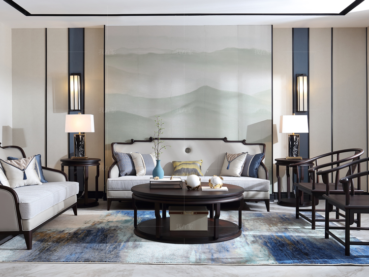 东方韵系列 中式轻奢风格家具