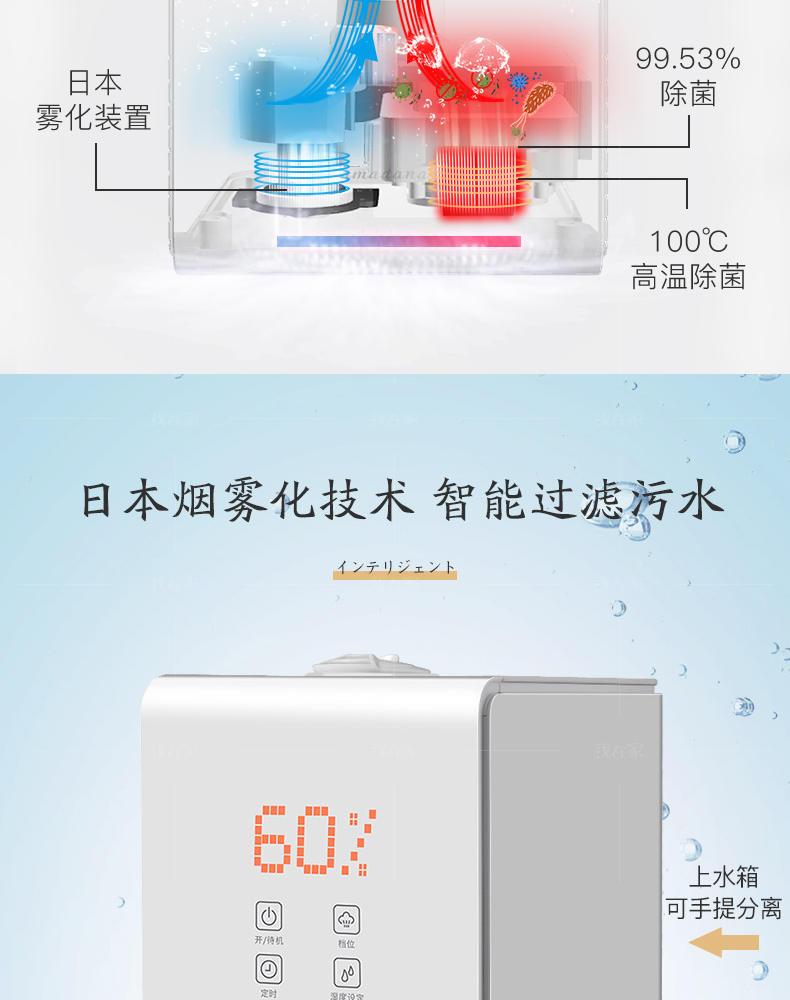 艾曼达系列艾曼达冷热加湿器的详细介绍