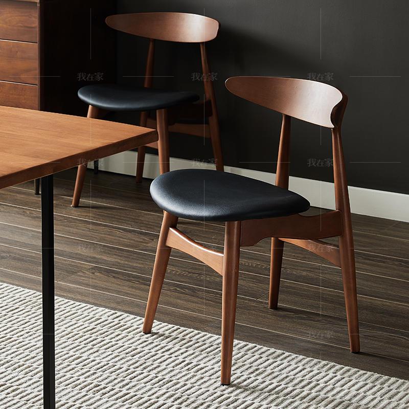 中古风风格艾斯堡餐椅