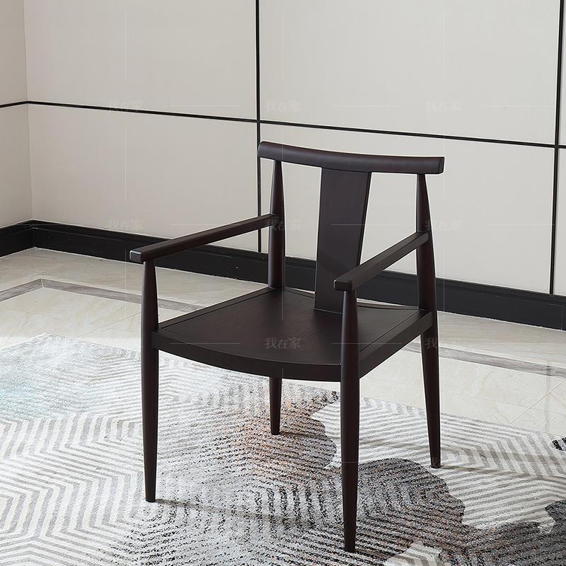 中式轻奢风格西凝茶椅