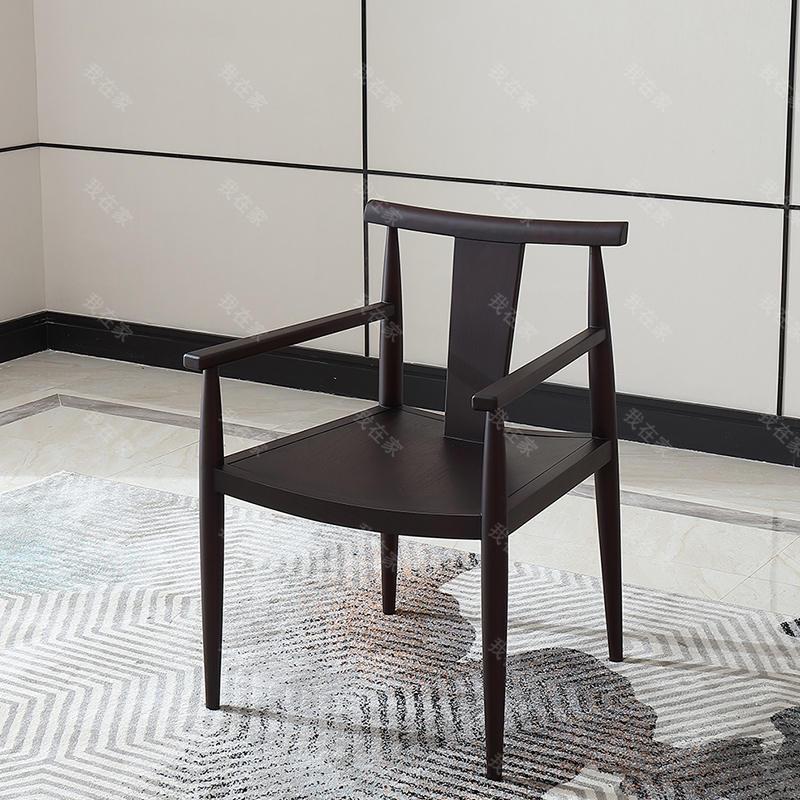 中式轻奢风格意尚茶椅