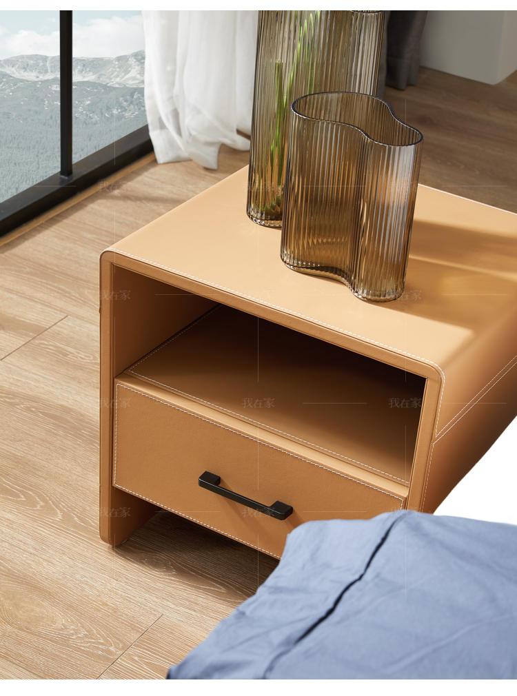 现代简约风格依岚床头柜的家具详细介绍