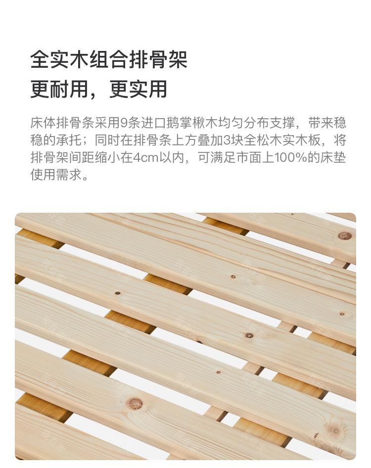 轻奢美式风格蓝斯双人床的家具详细介绍