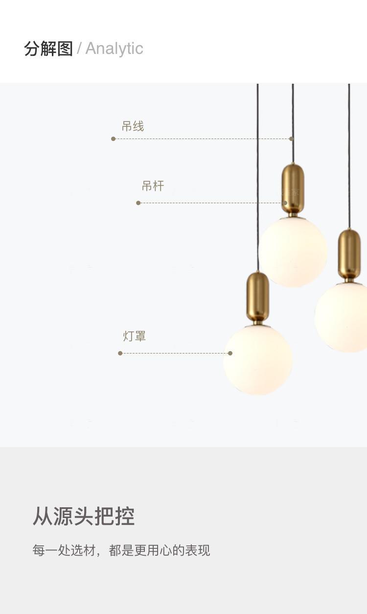 Austin Light系列轻奢风金属圆球吊灯的详细介绍