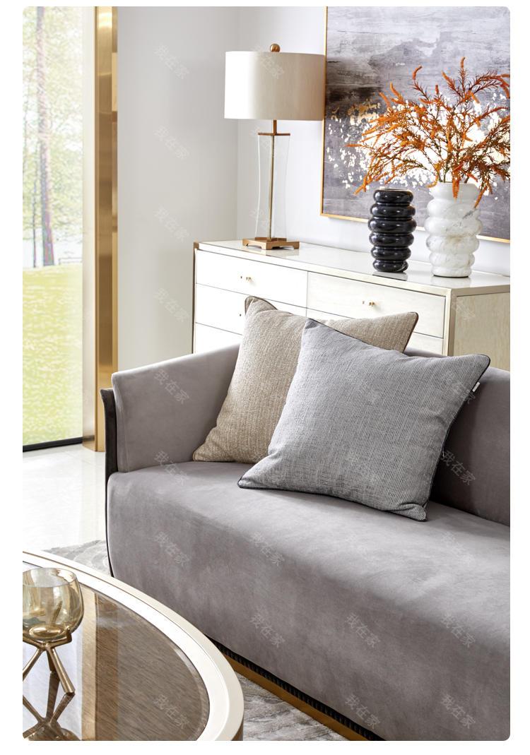 轻奢美式风格希尔顿沙发的家具详细介绍