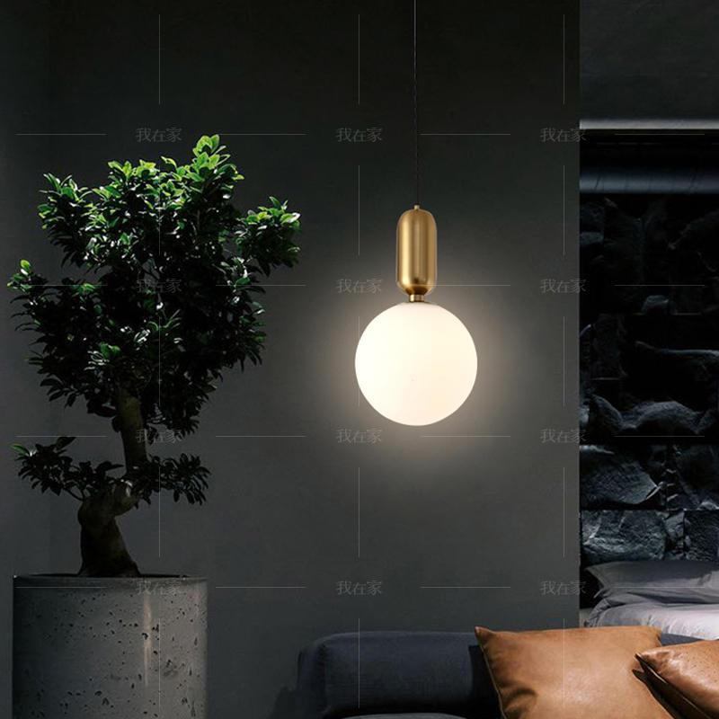 Austin Light系列轻奢风金属圆球吊灯