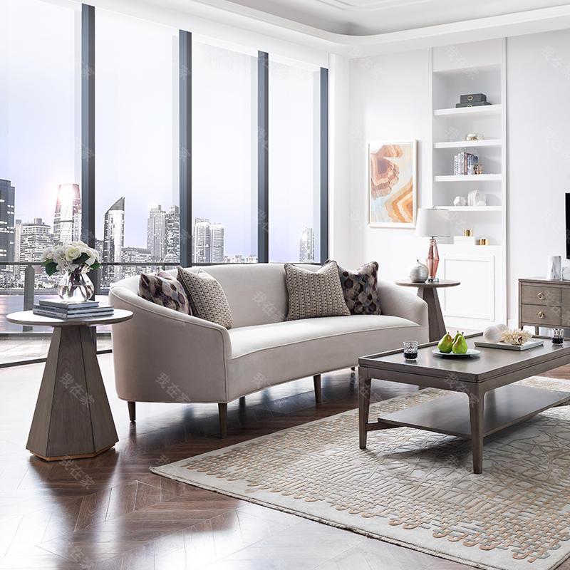 现代美式风格波兰特布艺沙发