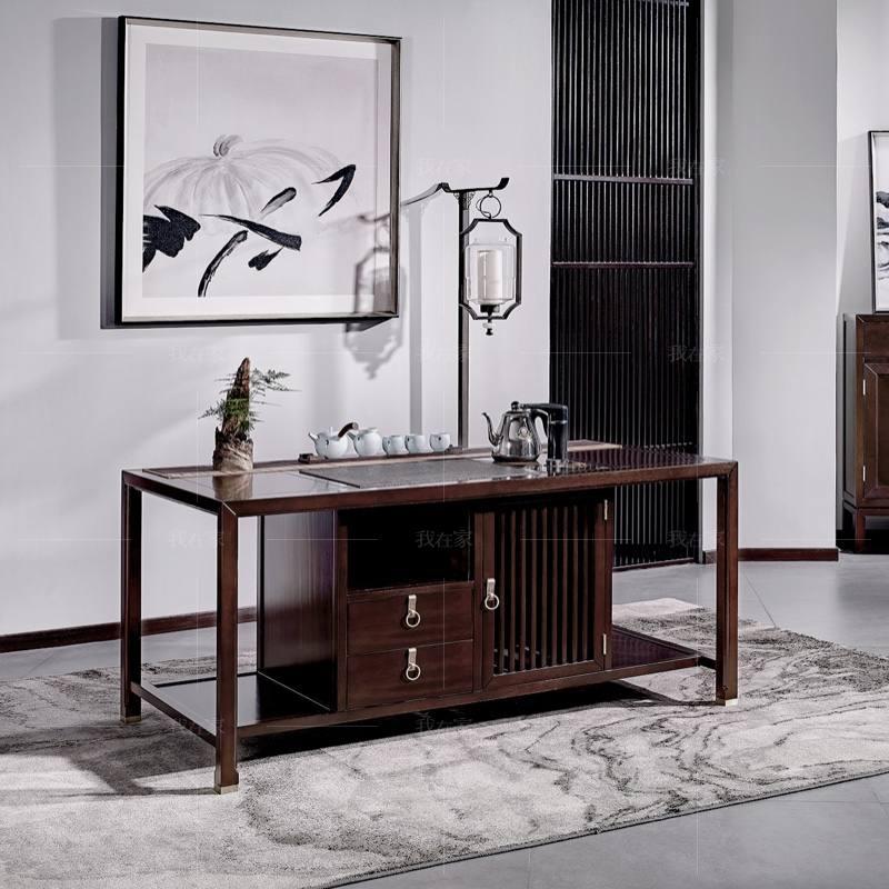 新中式风格疏影茶桌