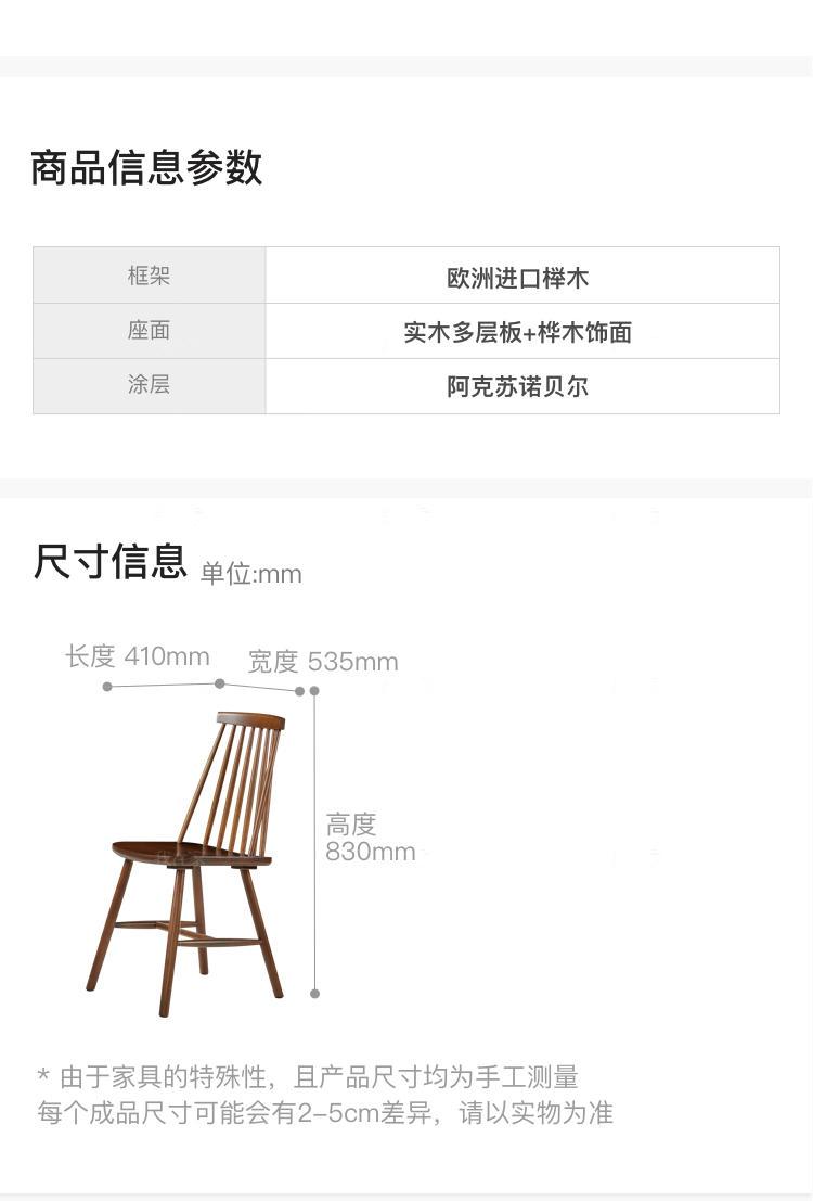 中古风风格彼得曼餐椅(2把)的家具详细介绍
