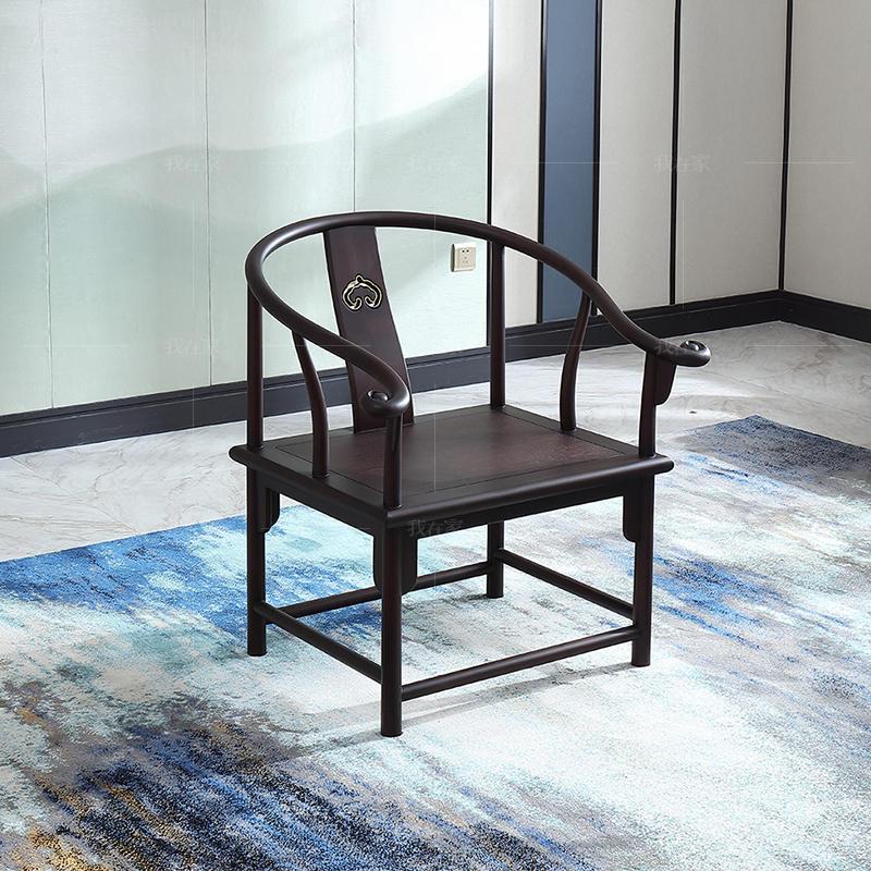 中式轻奢风格观韵茶椅