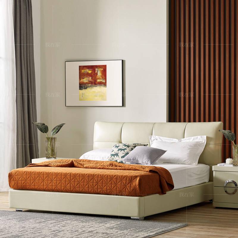 现代简约风格帕比双人床