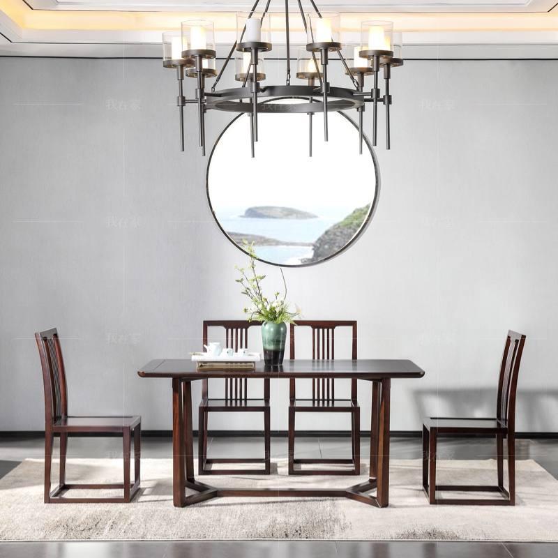 新中式风格秋月餐桌