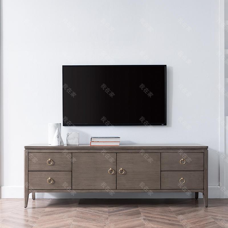 现代美式风格休斯顿电视柜