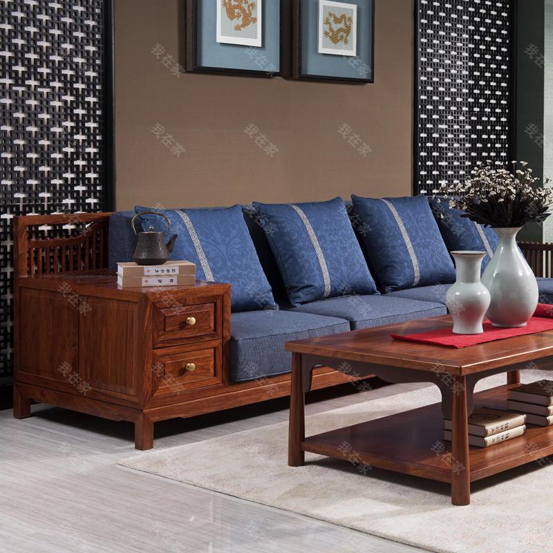 新古典中式风格梵语沙发