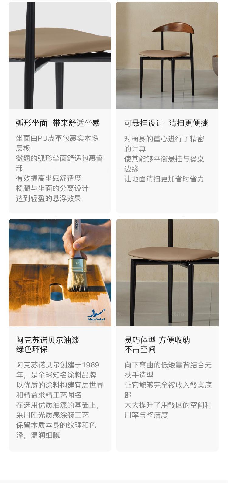 中古风风格斯维登餐椅(2把)的家具详细介绍