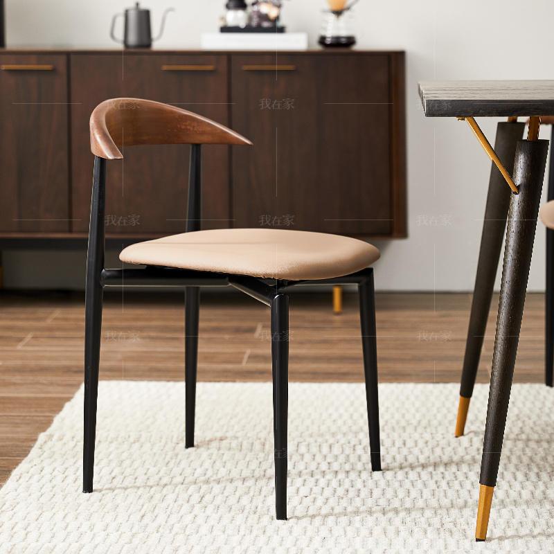 中古风风格斯维登餐椅(2把)