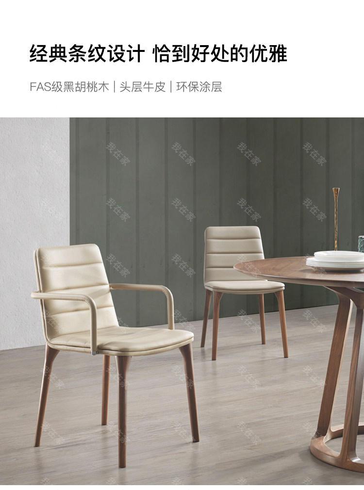 原木北欧风格心悦餐椅(样品特惠)的家具详细介绍
