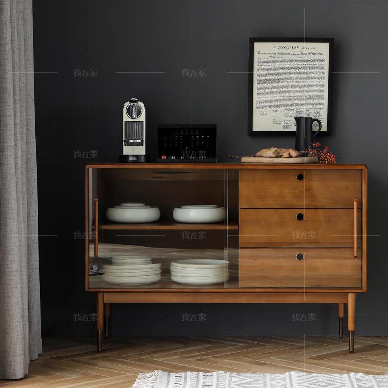 中古风风格艾斯餐边柜(样品特惠)的家具详细介绍