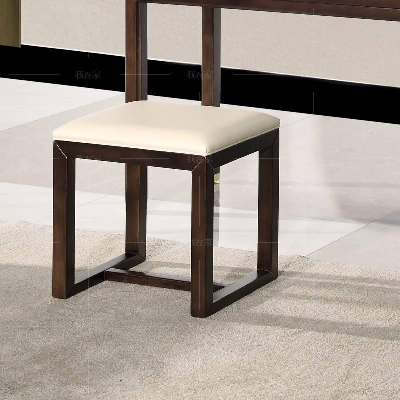 新中式风格疏影梳妆凳