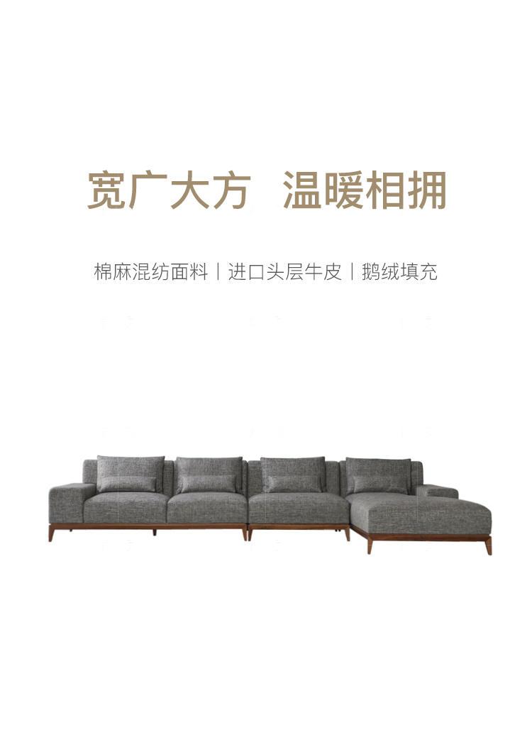 意式极简风格方格沙发(样品特惠)的家具详细介绍