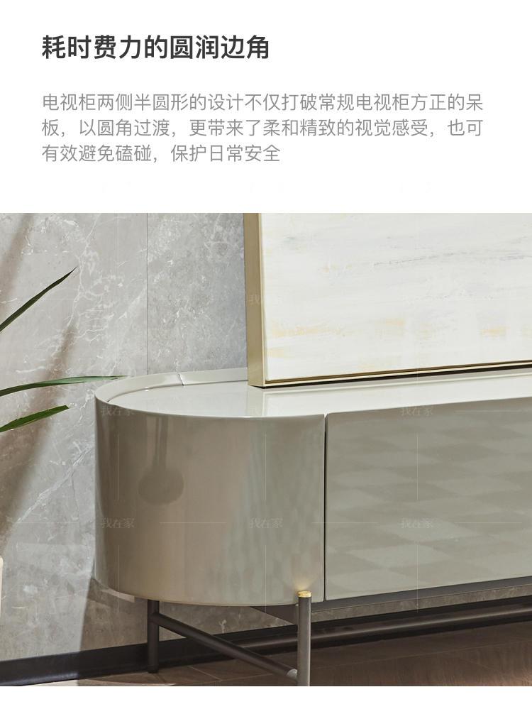 现代轻奢风格维罗纳电视柜的家具详细介绍