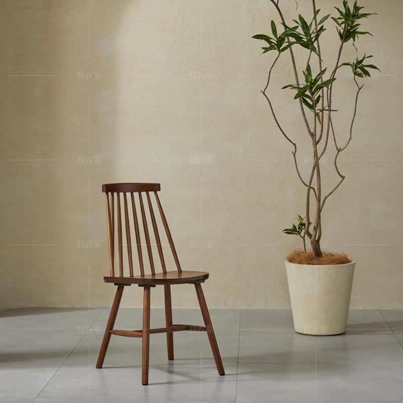 中古风风格彼得曼餐椅(2把)