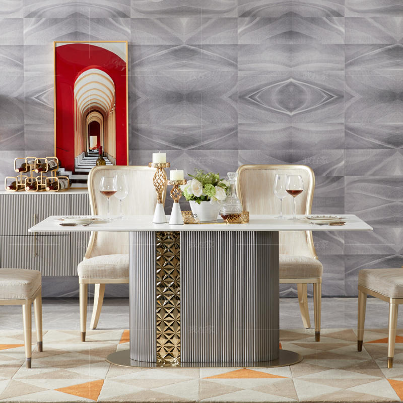 轻奢美式风格艾瑞克餐桌