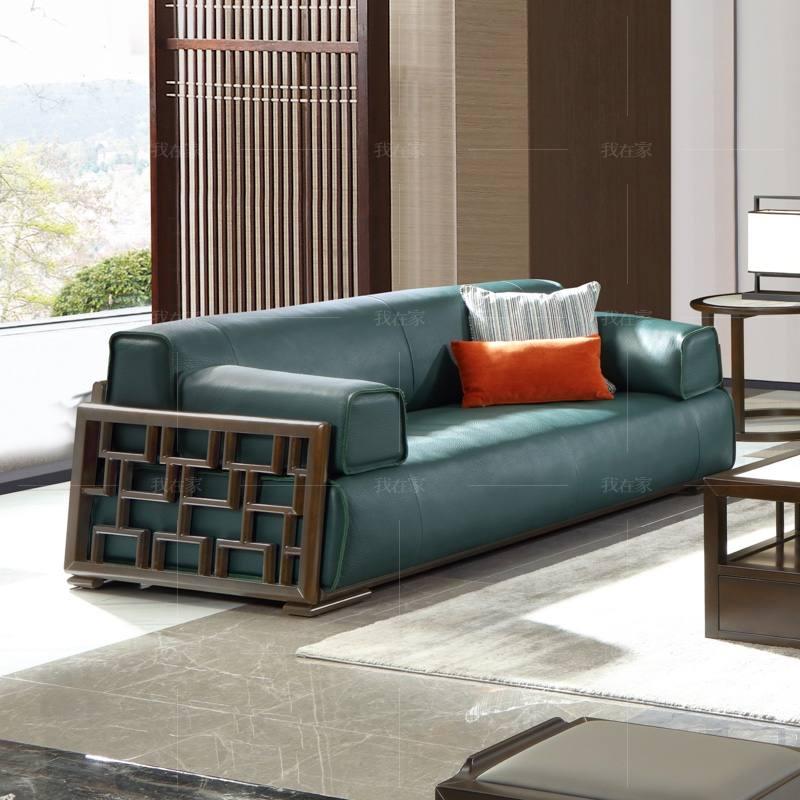 新中式风格静悟沙发