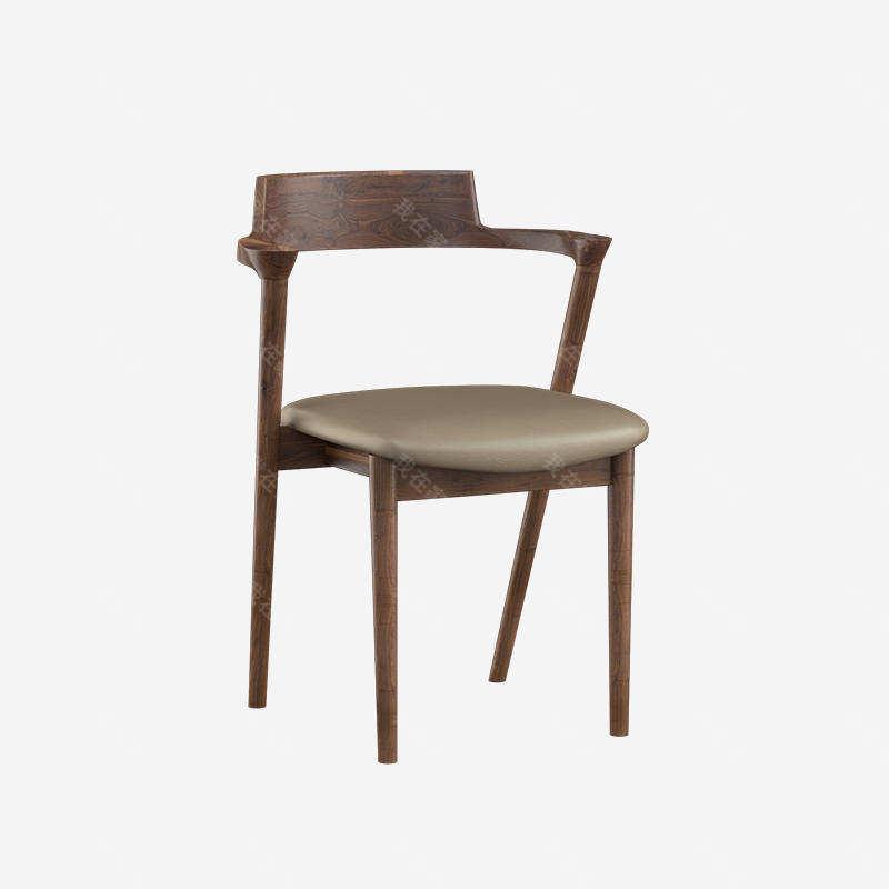 原木北欧风格扬灵餐椅(样品特惠)