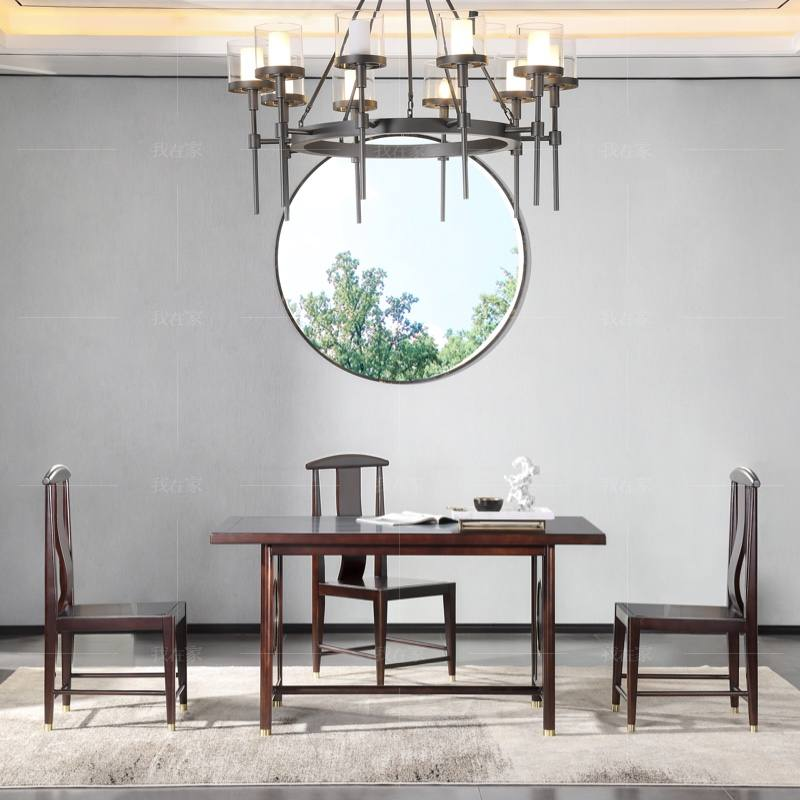 新中式风格玲珑餐桌