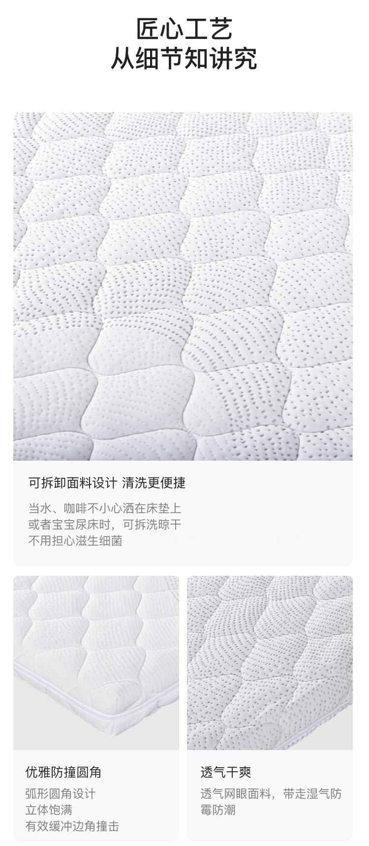 VELDA系列摩尔乳胶床垫的详细介绍