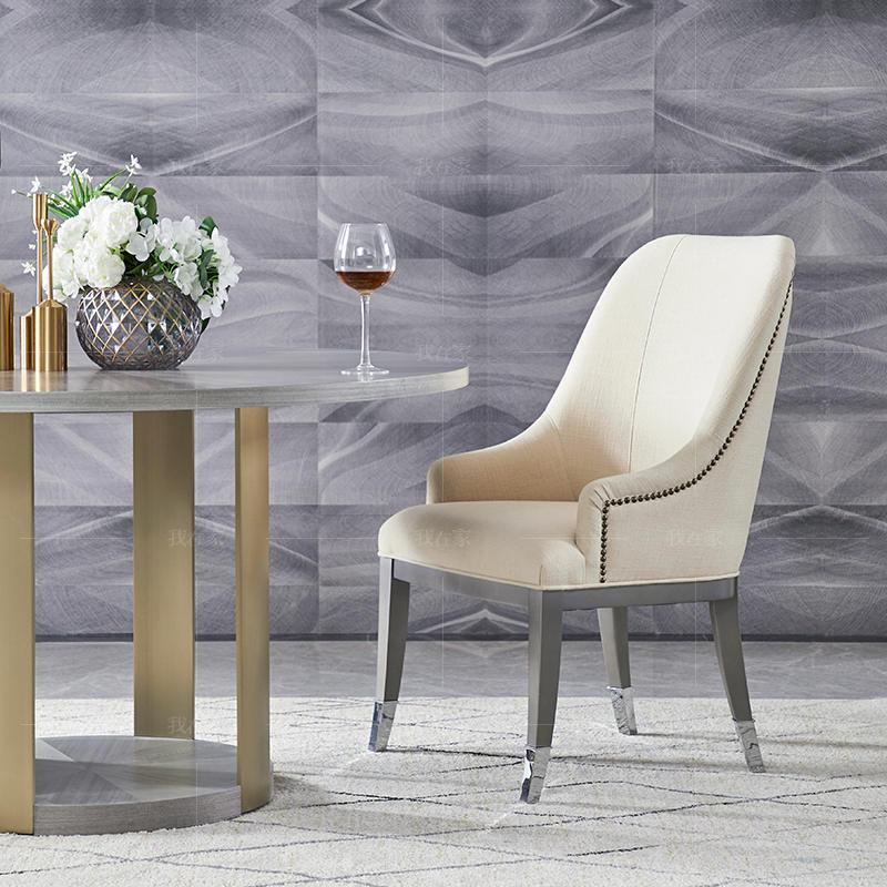 轻奢美式风格布兰琪餐椅