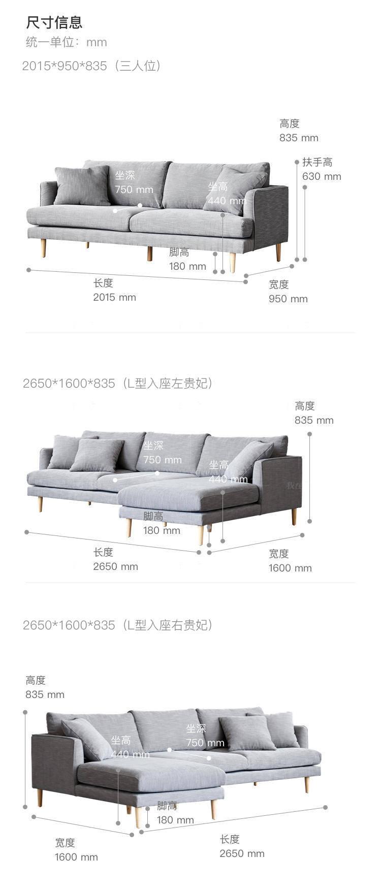 原木北欧风格北海道沙发的家具详细介绍