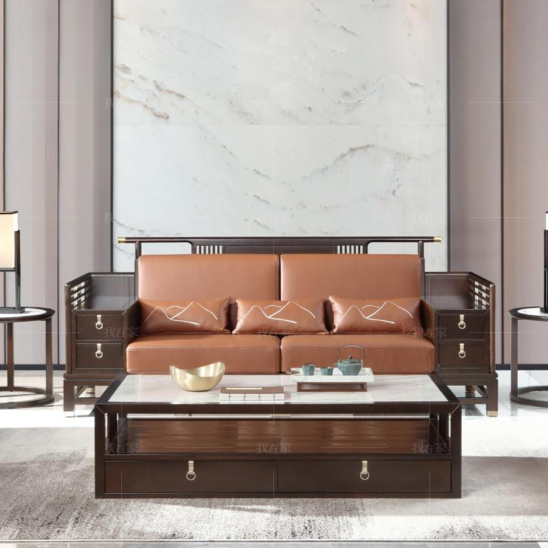 新中式风格似锦沙发