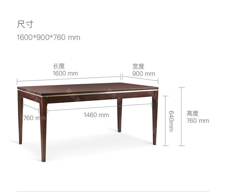 现代美式风格芝加哥风情餐桌的家具详细介绍