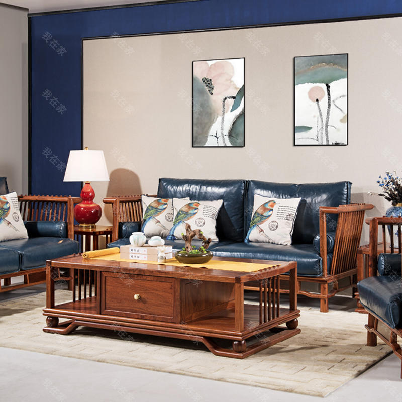 新古典中式风格规矩沙发
