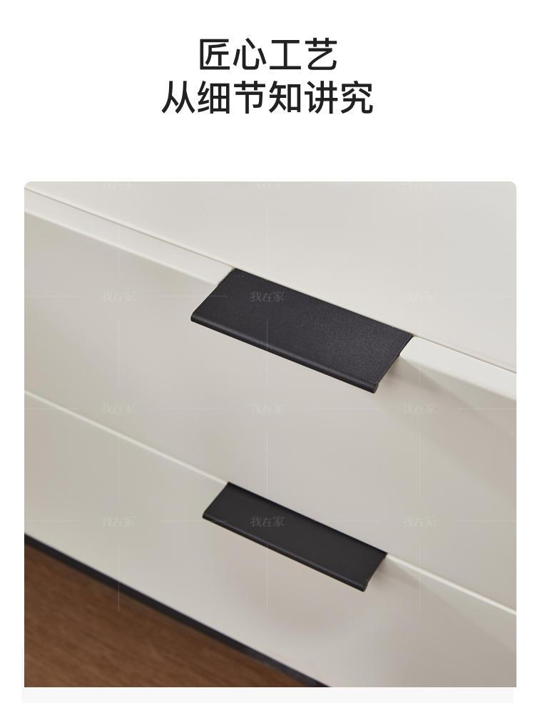 极简风格意格床头柜的家具详细介绍