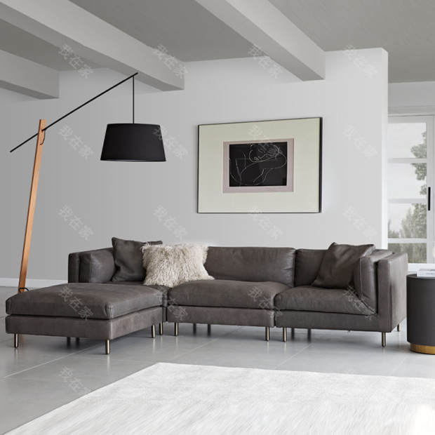 中古风风格哥德堡沙发