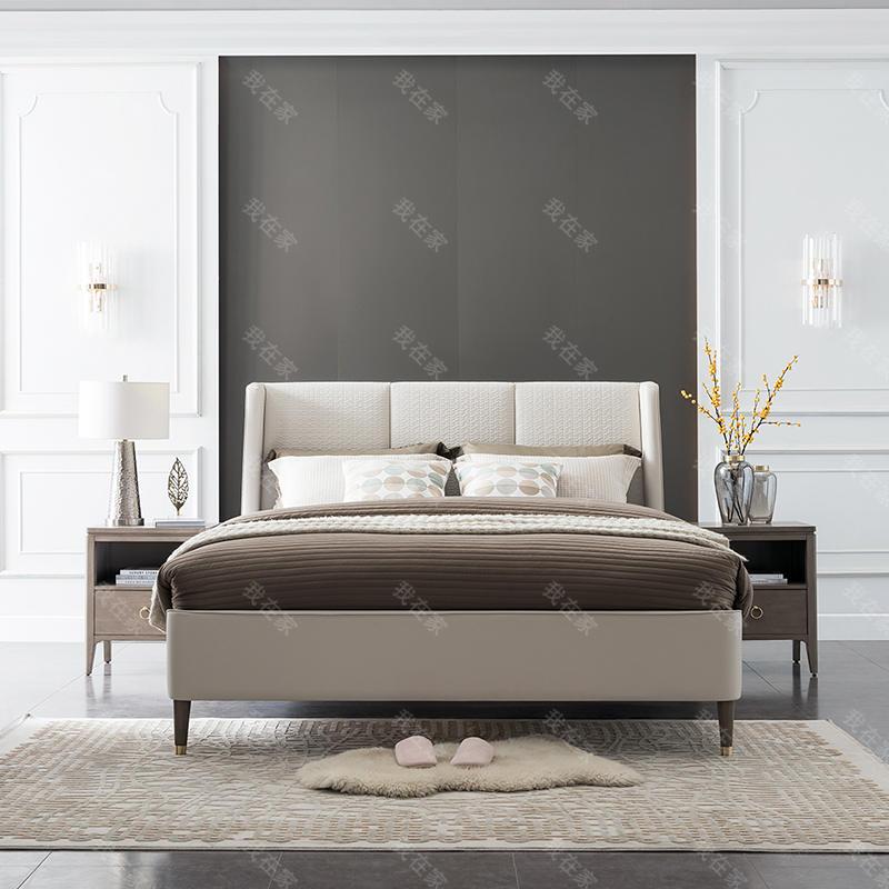 现代美式风格波兰特双人床