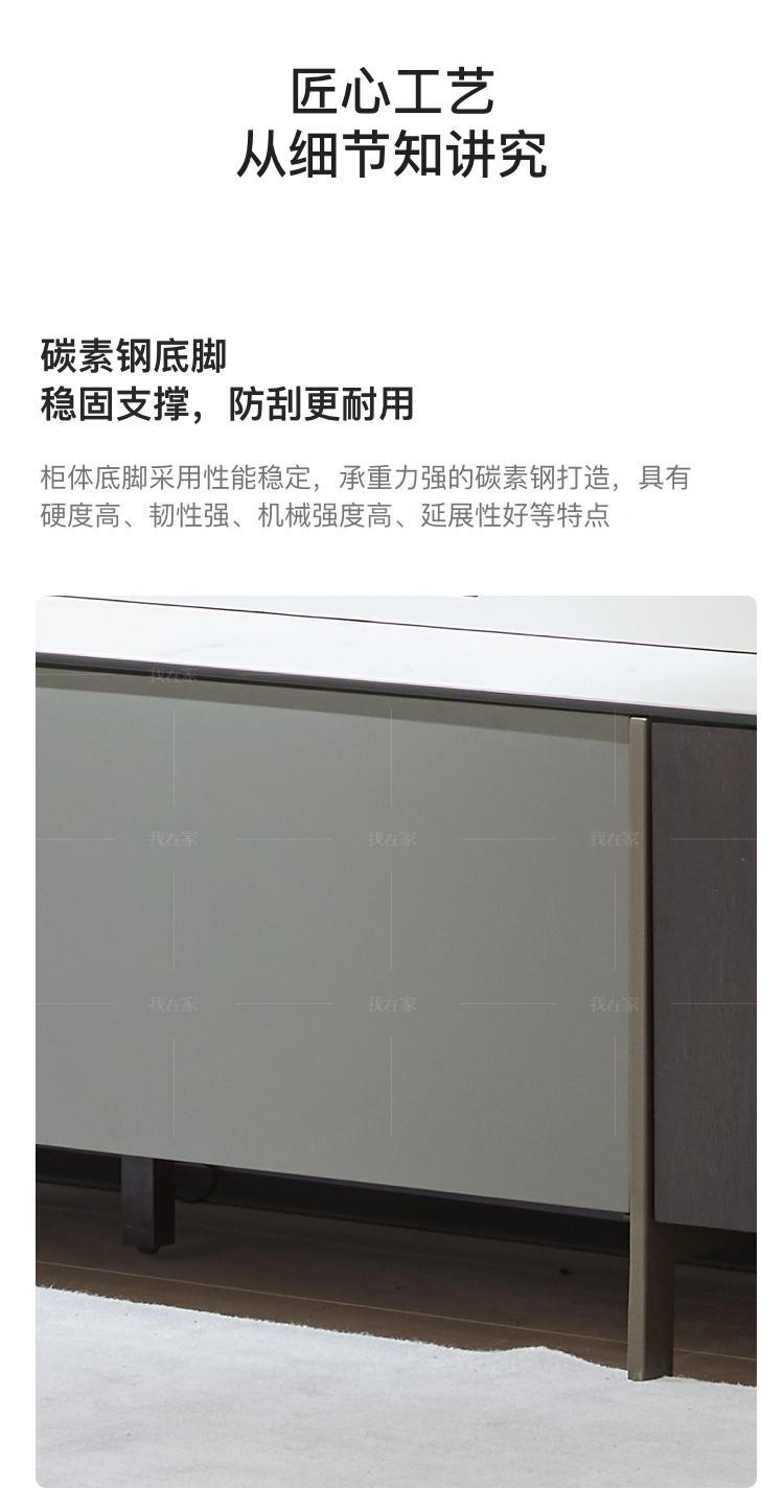 意式极简风格怡然电视柜的家具详细介绍